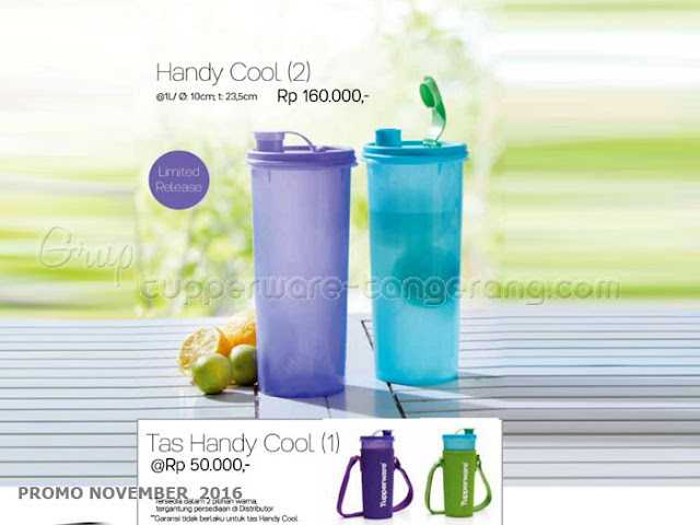 Handy Cool Promo Tupperware November 2016