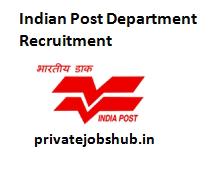 Indian Post Department Recruitment