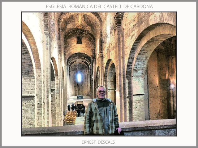 CARDONA-CASTELL-ESGLÉSIA-ROMÀNICA-FOTOS-HISTORIA-CATALUNYA-VISITES-ARTISTA-PINTOR-ERNEST DESCALS-