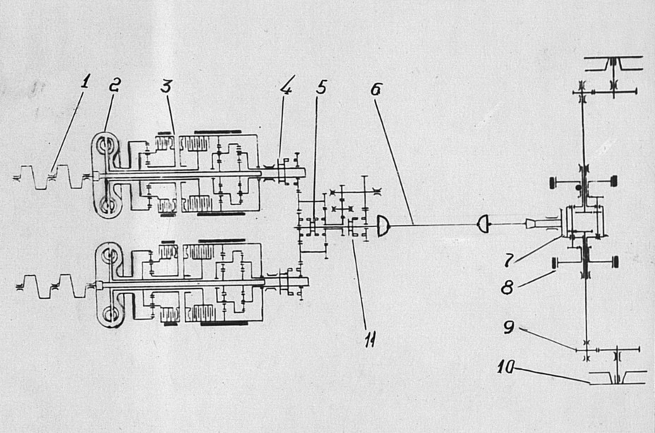 T20 Transmission Diagram Spicer 6 Plus 1 Transmission