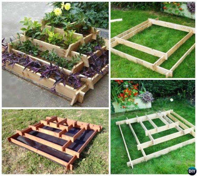 20 Brilliant Raised Garden Bed Ideas You Can Make In A: 25 Creative Cheap Raised Garden Bed