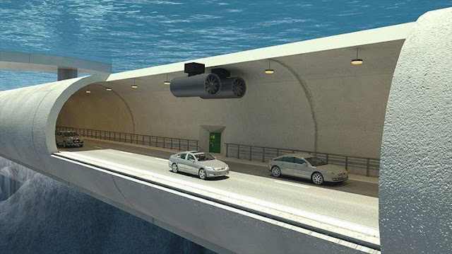 Is it possible? Engineers in Norway want to build an underwater, tube-shaped tunnel