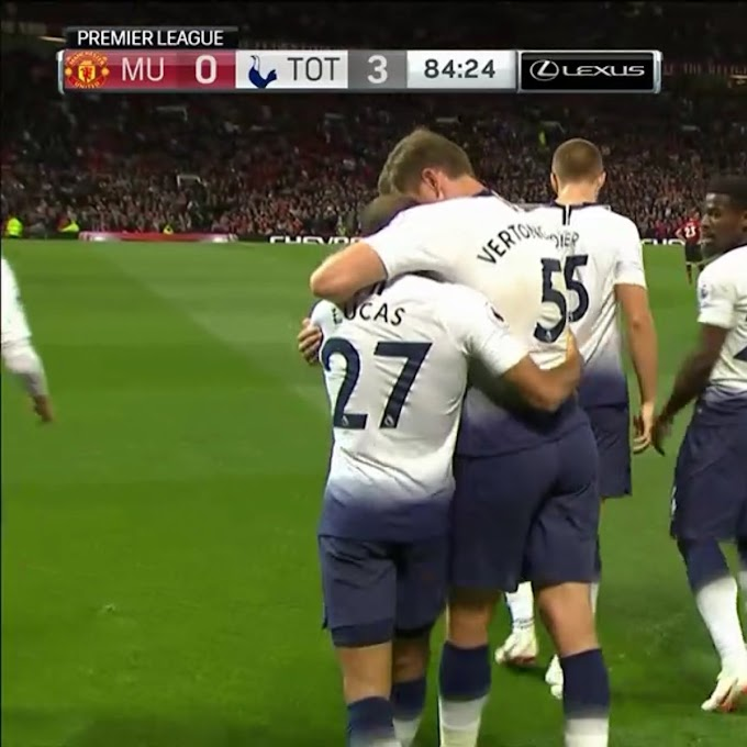 Spurs thump man United