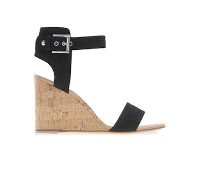Gianvito Rossi Spring Summer 2016 Shoes Rikki Mid wedge cork sandals