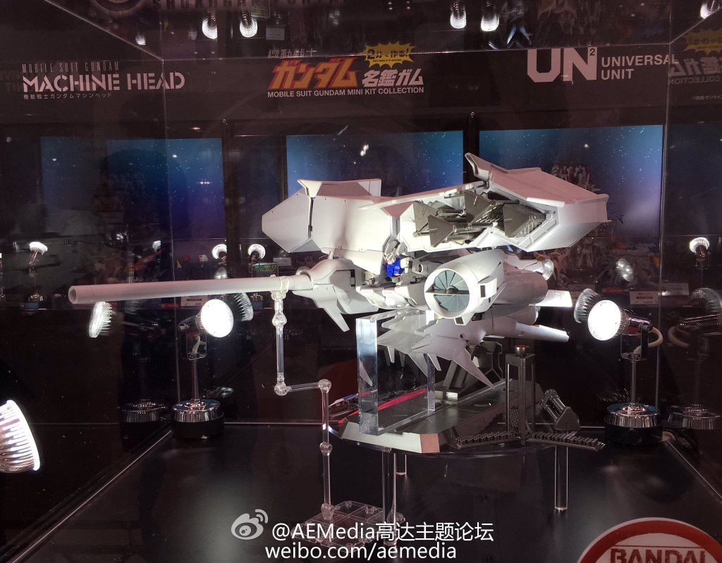 Gundam Universal Unit: Gundam GP03D Dendrobium Exhibited at 56th All Japan Model and Hobby Show 2016