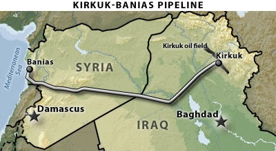 Bush's Invasion of Iraq was Criminal … Obama's About to Do the Same Thing In Syria oil%2Bpipeline%252C%2Biraq%252C%2Biran%2Band%2Bsyria