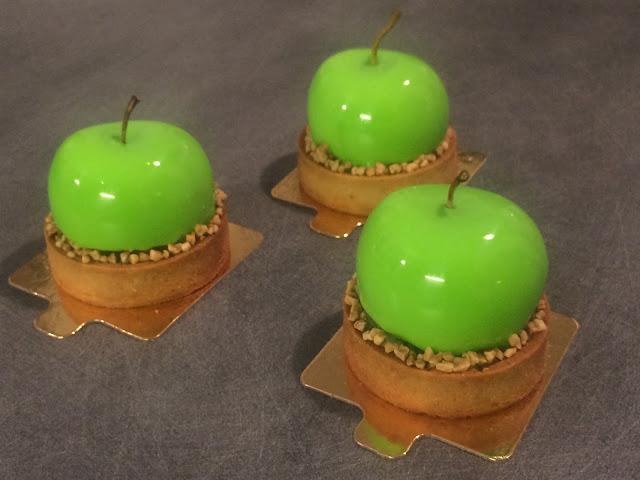 Tarte aux pommes vertes Granny Smith