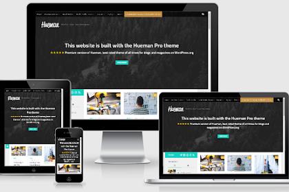 Hueman - Theme Wordpress SEO Friendly Free Download Keren Banget