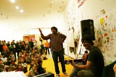 Polo Correo do Vento, Roberto, Músico do Quinto Pemento, Salon do Libro Infantil e Xuvenil de Pontevedra