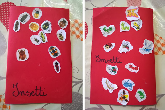 insetti e bambini piccoli