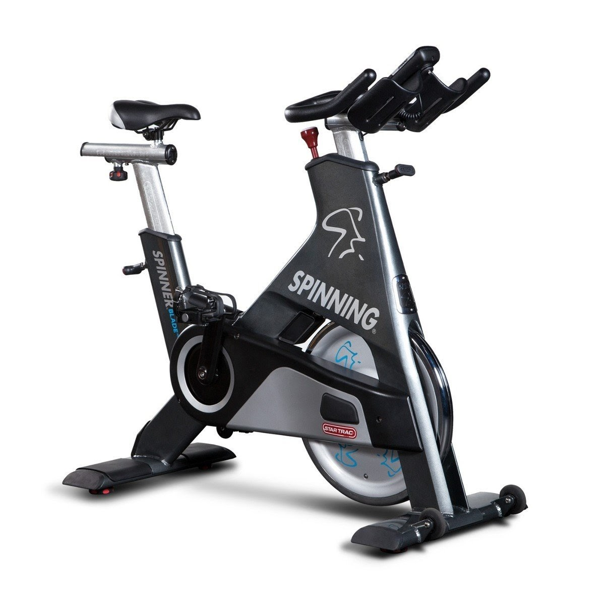 Exercise Bike Zone Star Trac Spinner Blade Ion Indoor