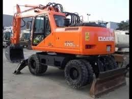 Best Doosan Solar 170W-V Wheel Excavator Service Manual