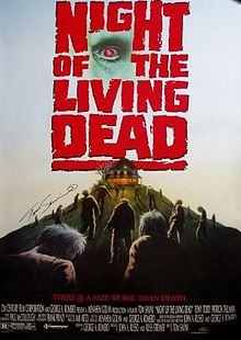10 zombies movie 1. Night of the Living Dead