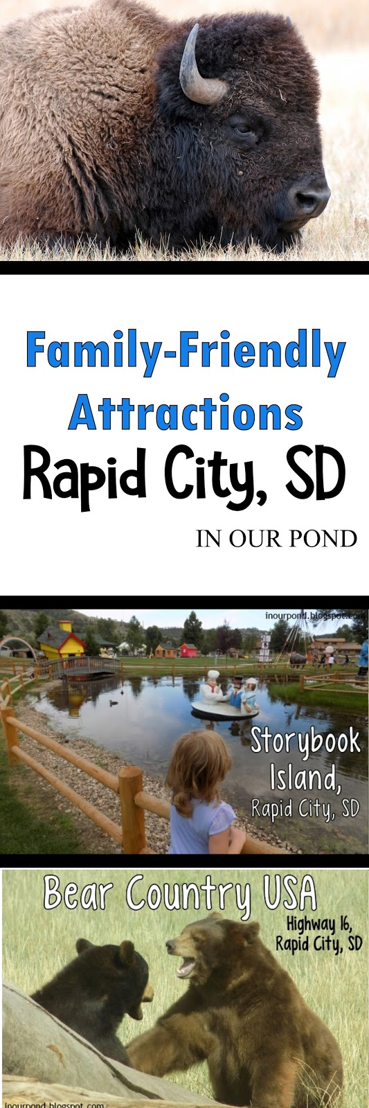 Family-Friendly Attractions near Rapid City, SD from In Our Pond #travel #roadtrip #roadtripkids #family #southdakota #rapidcity #mtrushmore #traveltips