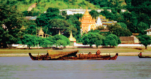 A cruise on the Irrawaddy