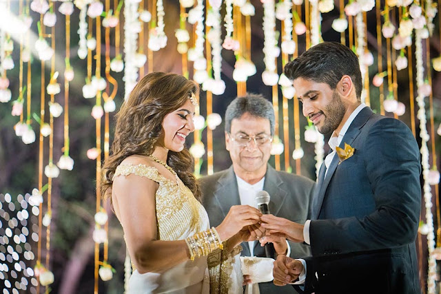Samantha Ruth Prabhu and Naga Chaitanya Engagement Photos