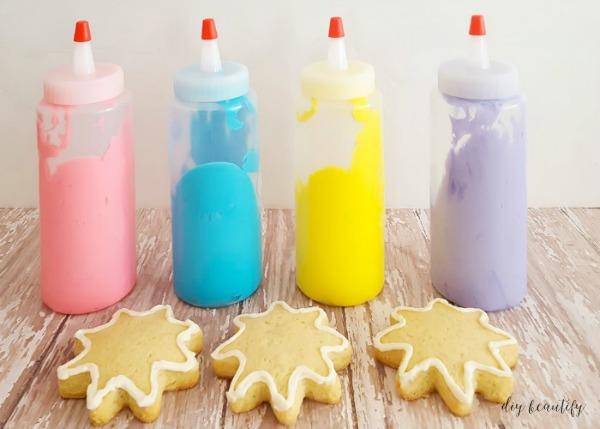 Tie Dye Sugar Cookies | DIY beautify