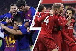 5 Fakta Mengenai pertandingan Liverpool Vs Barcelona