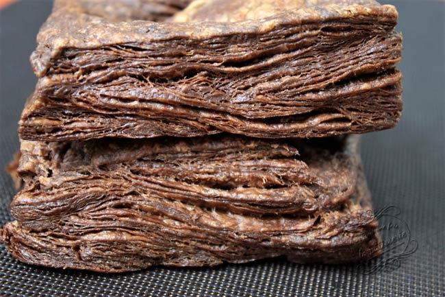 pate feuilletée facile rapide au chocolat