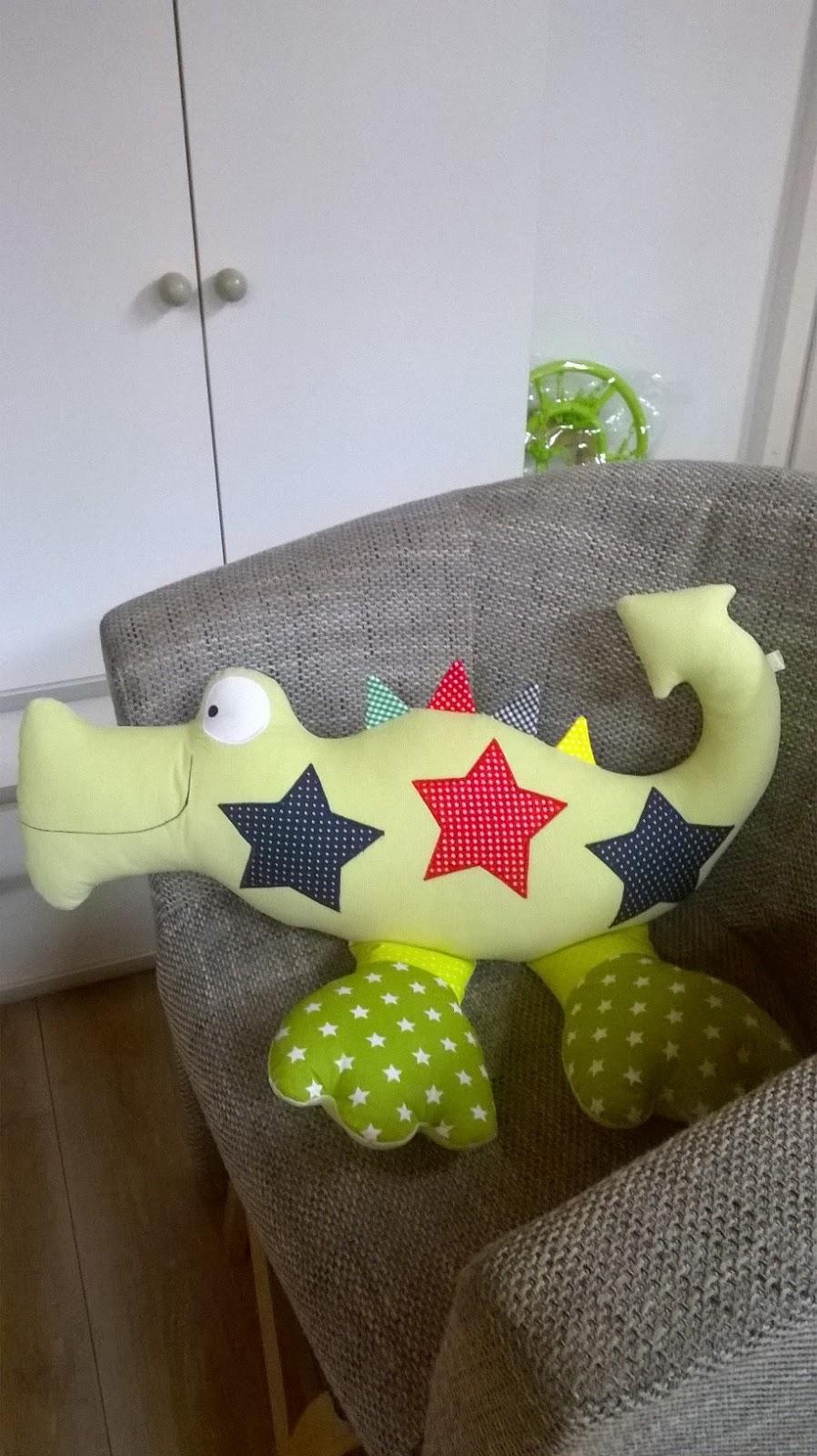Strickenundnaehen: Krokodil