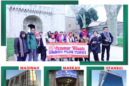 Paket Umroh Plus Turki 12 Hari Oktober 2019