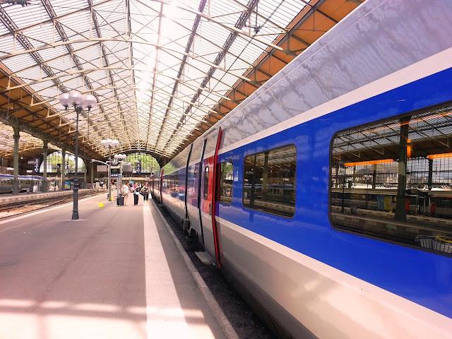 tåg i Tours