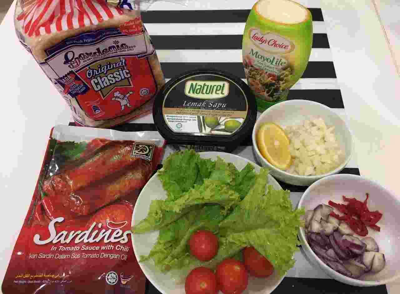 Resepi Sandwich Sardin Paling Sedap dan Mudah - Resepi Masakan Melayu
