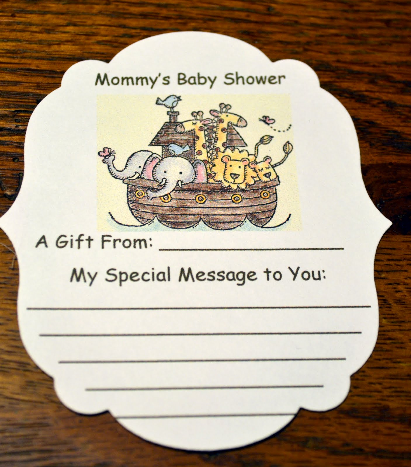 Create With Gwen: Baby Shower Goodies