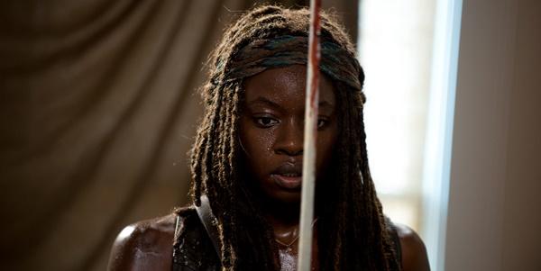 Michonne en el 6x08 de 'The Walking Dead'