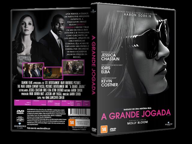 Capa DVD A Grande Jogada [Exclusiva]
