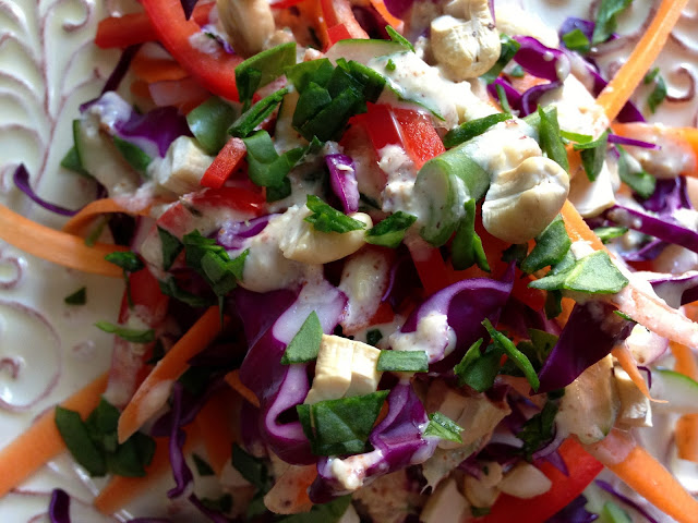 Purple People Pleaser Salad by BeautyBeyondBones! #glutenfree #vegan #paleo #edrecovery