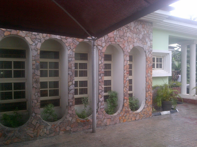 Natural stone at farad contractors nigeria