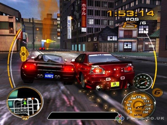 Midnight Club 3 DUB Edition Remix PS2 GAME ISO Screenshot 1