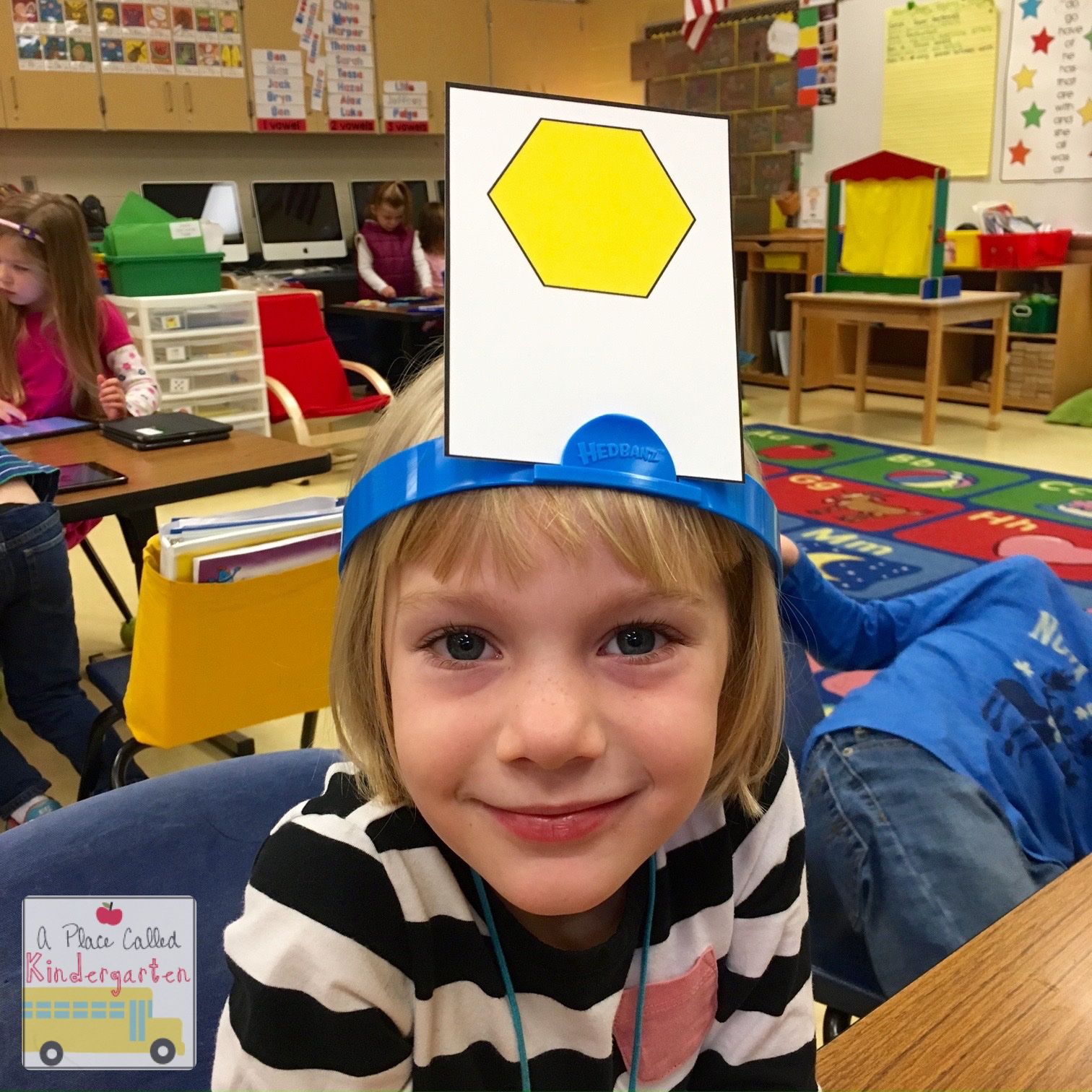 A Place Called Kindergarten It S All About The Shapes