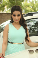 Manjusha in beautiful thin green gown At Jaya Janaki Nayaka le Logo Launch ~  Exclusive 009.JPG