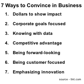 7 Ways to Convince in Business