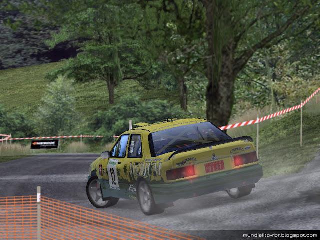 Ford Sierra RS Toñi Ponce Rallye El Corte Ingles 1993