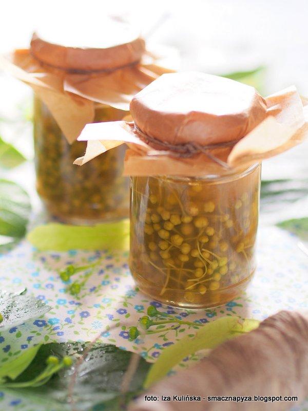 kapary po polsku, marynowane paki lipowe, kwiat lipy, ciekawostka z lipy, ale lipa