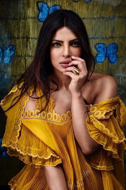 Priyanka Chopra featured in Angeleno Magazine