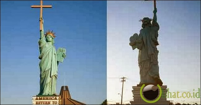 Statue Of Liberation Through Christ, Amerika Serikat