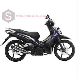 Honda-Supra-X-125-Helm-In-Black-Violet