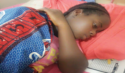 Girl who Survived Abuja AirForce Jet Crash gets Something Big