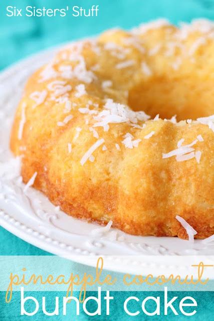 PINEAPPLE COCONUT BUNDT CAKE RECIPES