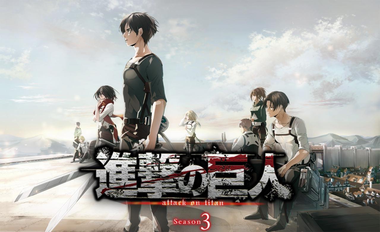 Shingeki no kyojin saison 3 partie 2 daté ! Shingeki-no-Kyojin-Season-3Shingeki-no-Kyojin-Season-3