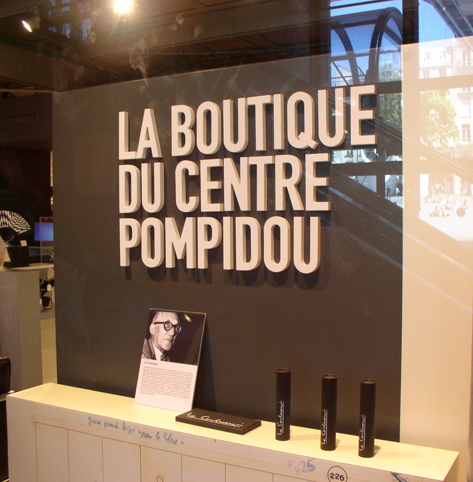 from paris with love le corbusier at the pompidou center april 29 august 3 2015. Black Bedroom Furniture Sets. Home Design Ideas