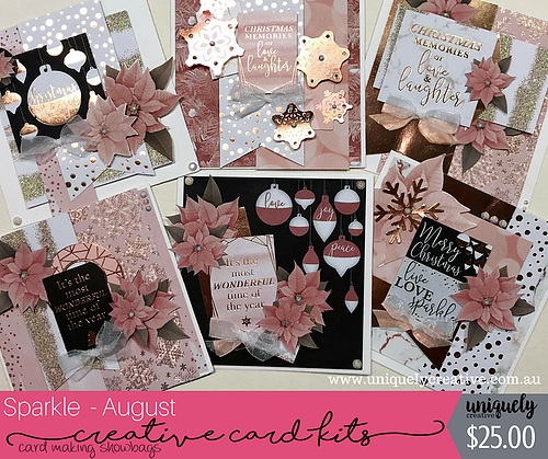 Uniquely Creative - DT Creative Card Kit - August