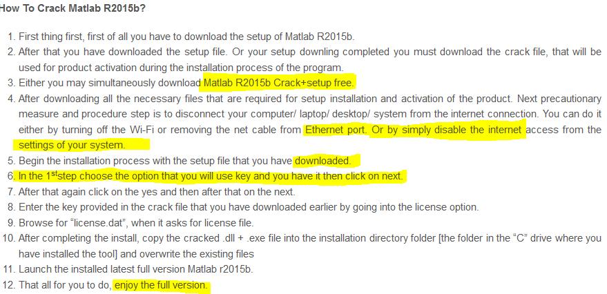Matlab Free Download Crack