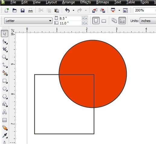 Cara Memotong Objek Atau Gambar Di Coreldraw