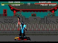 Fatality Mortal Kombat - Mega Drive