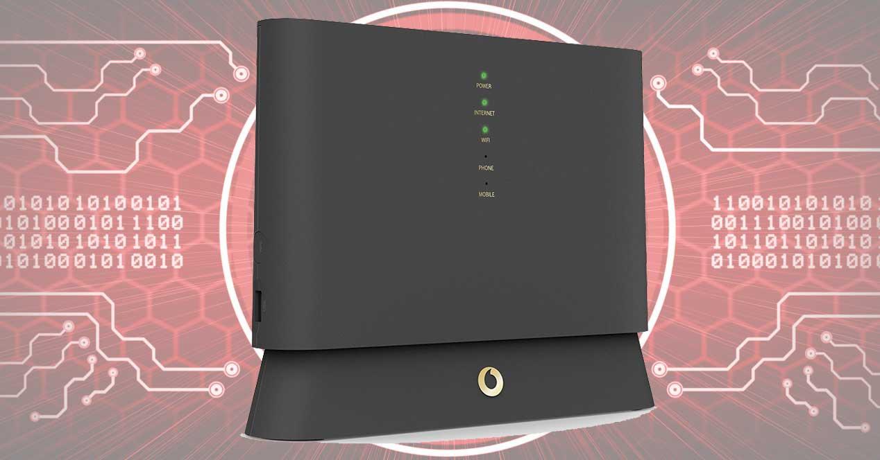 devolución router Vodafone